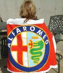 Alfa Romeo Beach Towel